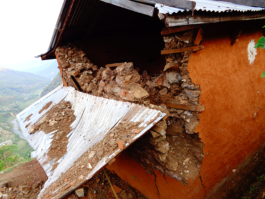 Photos of Nepal earthquake