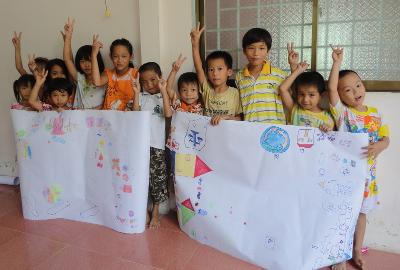 Children Learn Cornerstones in Vietnam